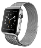 Apple Watch 42mm Stainless Steel Case with Milanese Loop - Миланский сетчатый браслет MJ3Y2